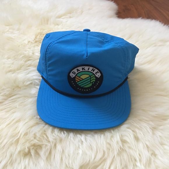 Mens Dakine Landscape Blue Snapback Hat e664863dfe0